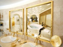 Beautiful stylish bathroom mirrors