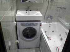 Washing machine for washbasin