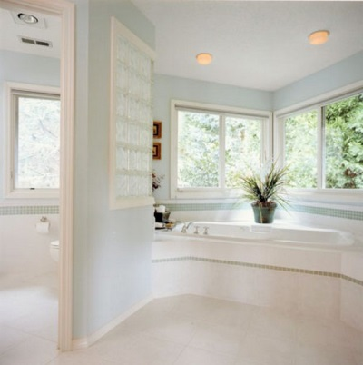 Harmonious finish bathroom and toilet