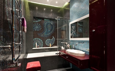 Oriental style in the bathroom