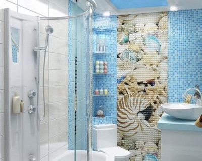 Marine style bathtub with various colors