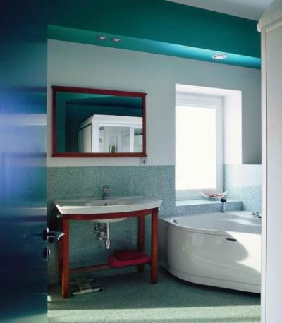 Turquoise badkamer design kenmerken stijlen een combinatie van wit build daily - Badkamer turkoois ...