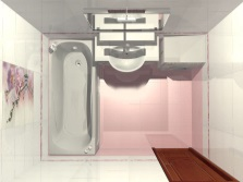 Planning a bathroom 5 m²