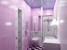 Lilac - purple bathroom