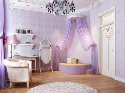 Lilac - the classic style