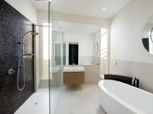 Modern bathroom - minimalist
