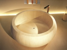 Ofuro - bath in the Japanese style