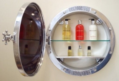 Bathroom accessories - Mirror with shelves inside