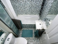Bathroom in the panel house