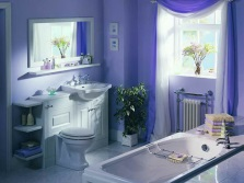 Decorating the bathroom colors