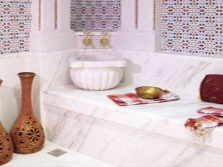 One of the rooms in the hammam