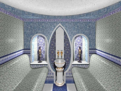 The control system in the hammam