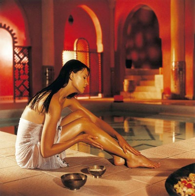 Aromatherapy in the hammam