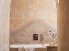 The bathroom in the style of Provence