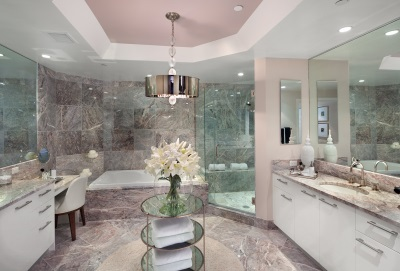 Bathroom of natural Marble