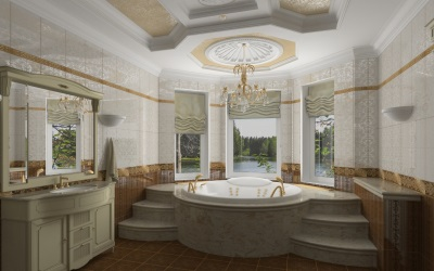 Sample classic bathroom