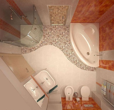 Redevelopment in the bathroom