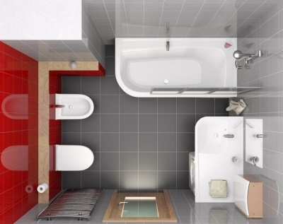 The project is a small bathroom - all have