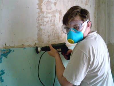paint stripping using power tools