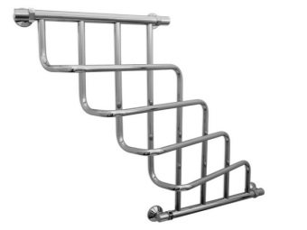 Water heated towel rail Sunerzha from producer