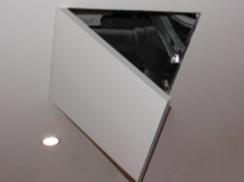 Ceiling hatch audit Tile