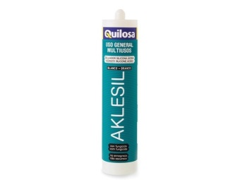 Acidic silicone sealant for bathroom