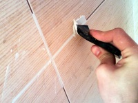 Epoxy grout for filling tile joints