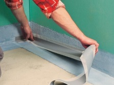 waterproofing bathroom floor