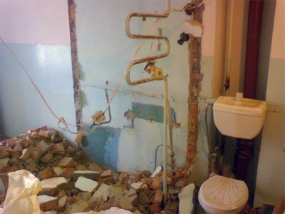 Remodelling a bathroom in the Khrushchev