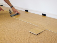 Parquet laying tiles