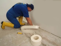 Waterproofing bathroom