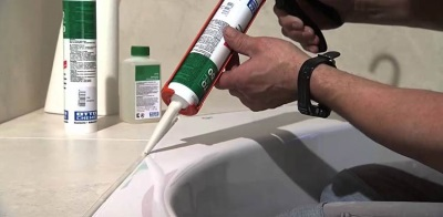 The silicone-acrylic sealant