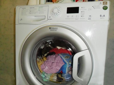 Washing machine with the laundry , the door is locked - Tips