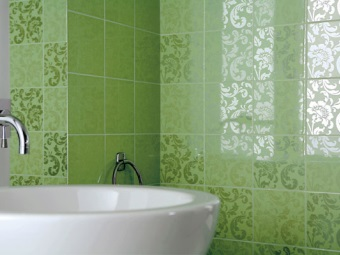 Caring for ceramic tiles in the bathroom