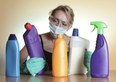protective equipment when working with toxic substances