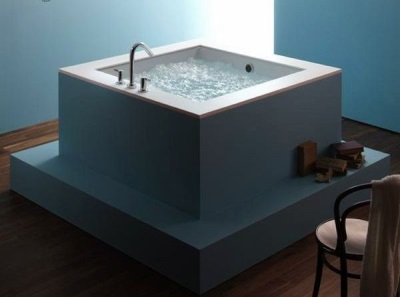 Popular sizes of square bath