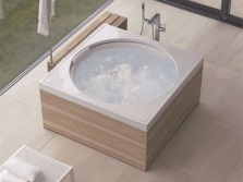 Square bath and its form