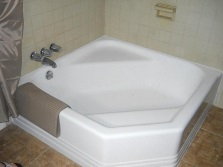 Square shape bath