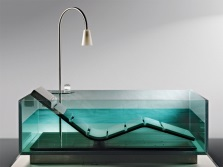 The advantages of transparent baths
