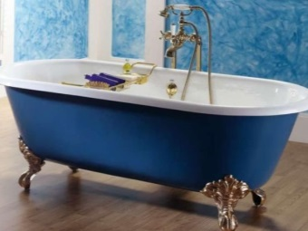 Cast iron bathtub Freestanding