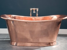 Bath made ​​of copper