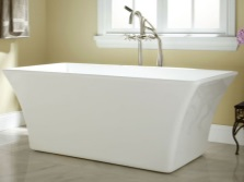 Forms freestanding baths