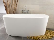 Shape freestanding bath