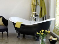 Weight and dimensions of the cast-iron baths