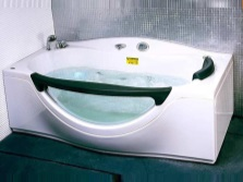 Bath Appollo with glass insert