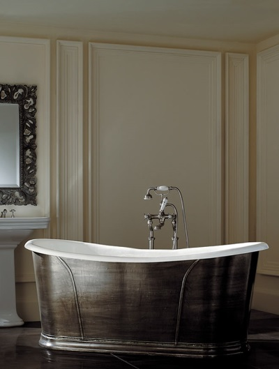 Bath freestanding cast iron