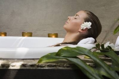 Spa treatments at home for relaxation of the body