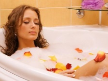 Restorative and relaxing bath