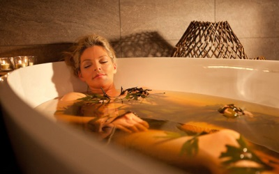 Soothing herbal baths