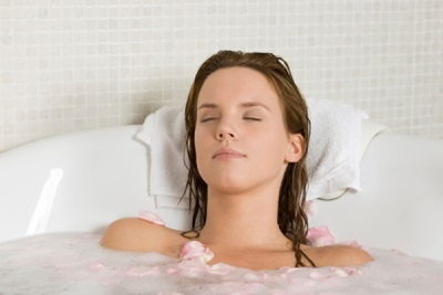 Baths with herbal weight loss